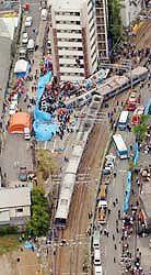 福知山線事故現場